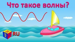 Почемучка: что такое волны, почему они возникают в море? Обучающий мультфильм для детей