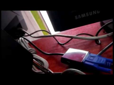 Solución pantalla rota computador todo en uno. Cable usb a VGA en Acer Aspire z1620