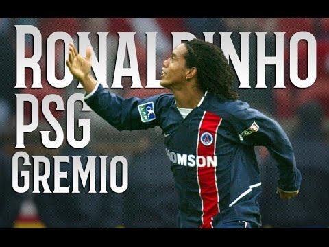 Ronaldinho Gaúcho - The Beginning - Amazing Skills & Goals - PSG/Grêmio