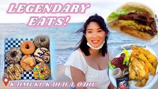 LEGENDARY FOOD in Kaimuki, Kahala, Oahu, Hawaii || Affordable Eats!