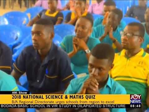 2018 National Science And Maths Quiz - AM Show on JoyNews ( 1-6-18)