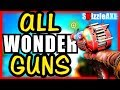 ALL COD ZOMBIES WONDER WEAPONS RANKED WORST TO BEST (Ranking Every Wonde...