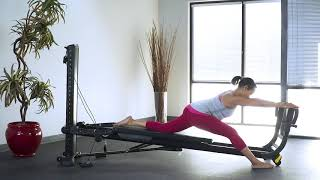 Hip Flexor Stretch with Toe Bar