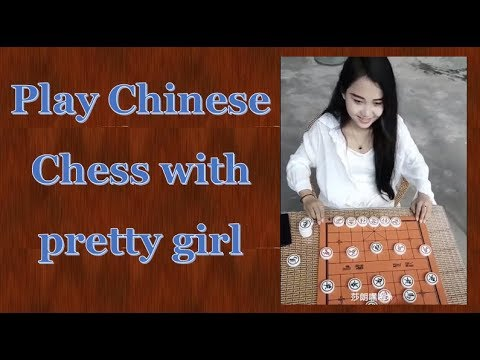 Games for girls 2: Play Chinese Chess with pretty girl - Chinese chess games