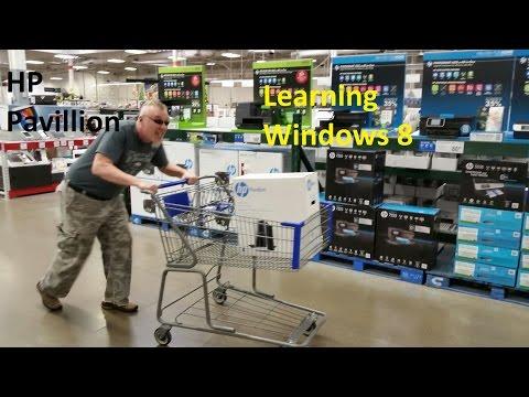 HP Pavilion Unboxing Windows 8 Review 500 PC 12 GB