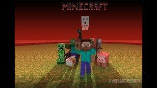 Minecraft Прохождение #1 Построил дом!