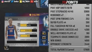 NBA 2K19 HOW TO GET 60K PER GAME AFTER PATCH! FASTEST XP METHOD! My Career Exploit!