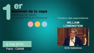 Positions des associations : SOS Addictions - #sovape
