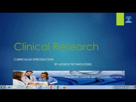 CLINICAL RESEARCH ASSOCIATE ONLINE TRAINING - YouTube