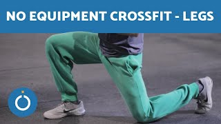 CROSSFIT at HOME Workouts Without Equipment - LEGS