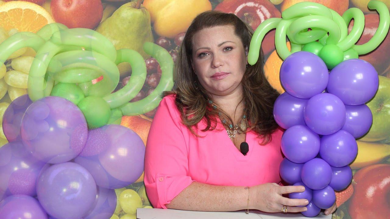 Rico racimo de uvas en globos, Balloons Grape