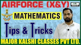 Indian Air Force Math Tricks & Tips For X Group Exam