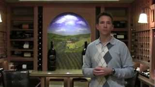 Custom Wine Cellar with Granite Tasting Table