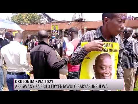 OKULONDA KWA 2021: Abegwaniza ebifo eby'enjawulo bakyasunsulwa