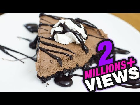 Video CHOCOLATE MOUSSE CAKE Without Bake or Without Oven