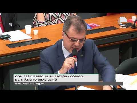 PL 3267/19 - Código de Trânsito Brasileiro - Exame Toxicológico - 22/10/2019 - 14:43