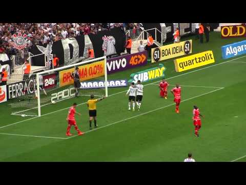 Gol do Corinthians: Guerrero fecha o placar na Arena Corinthians