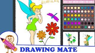 Tinkerbell Coloring Pages Colouring Book Game ♥ Kolorowanki Malowanki Gry dla dzieci Dzwoneczek