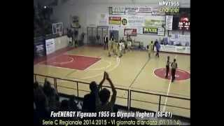preview picture of video 'ForENERGY VIGEVANO 1955 vs Olympia Voghera (66-61)'
