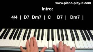 When I Was Your Man Bruno Mars Piano Tutorial