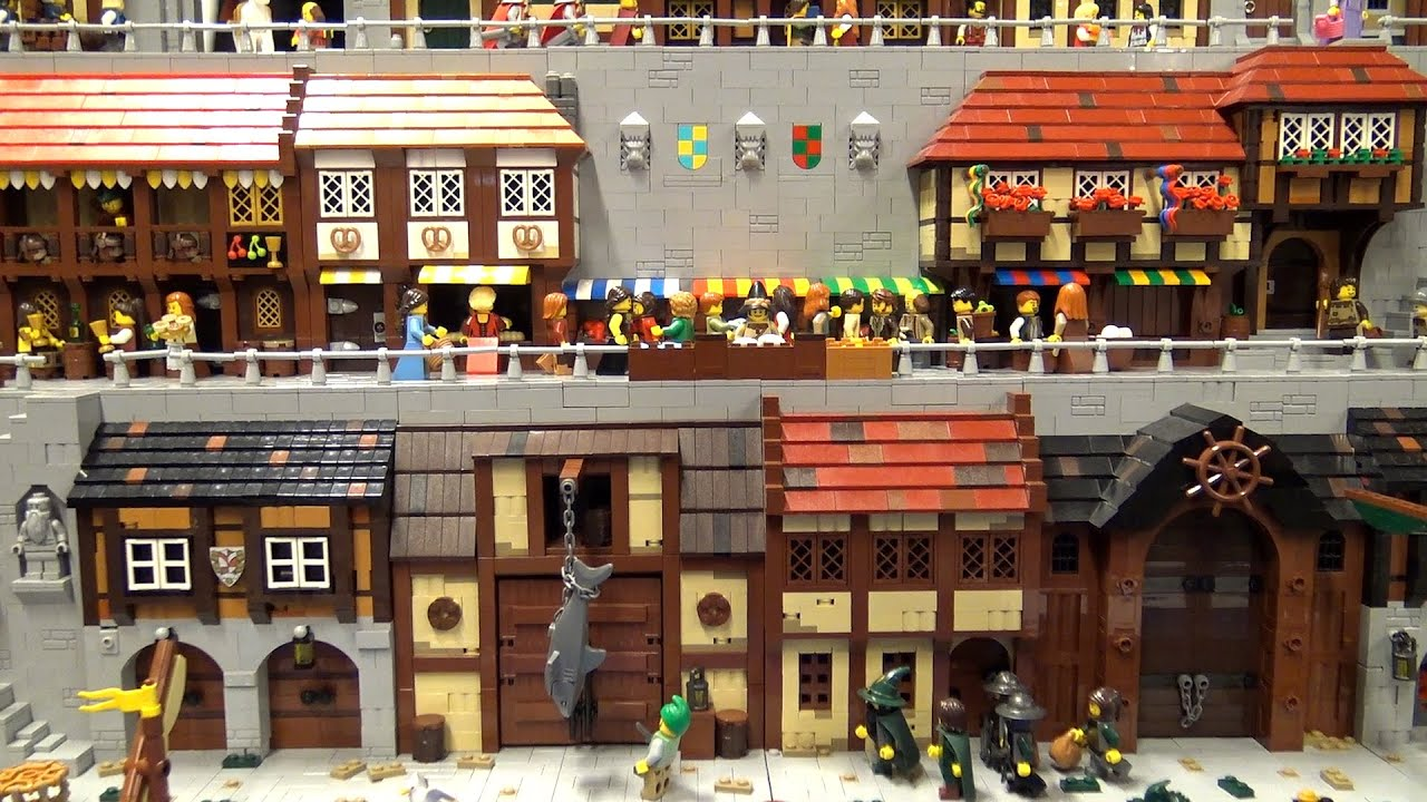 LEGO Seaside Castle Market Village | Skærbæk Fan Weekend 2019