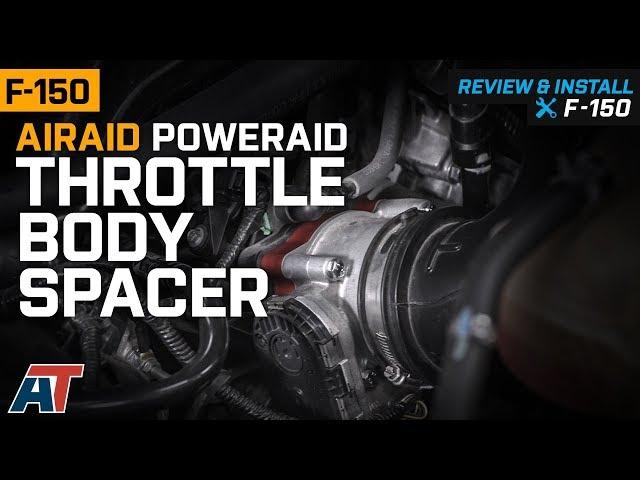 Airaid F-150 PowerAid Throttle Body Spacer T527278 (07-10 4 6L
