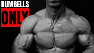 "How to Build ""PERFECT"" Shoulders (DUMBBELLS ONLY!)"