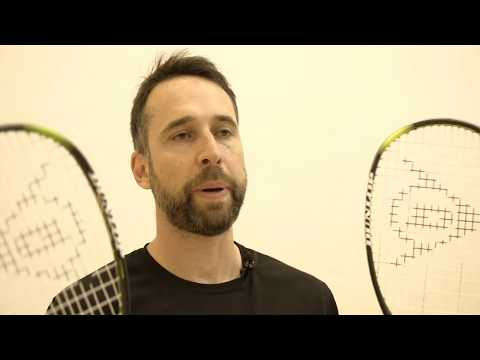 Dunlop Precision Hyperfibre+ Ultimate v Elite squash racket review by PDHSports.com
