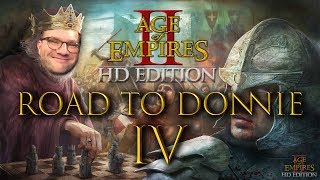 Age of Empires 2: Road to Donnie | DIE ERSTE SCHLACHT!