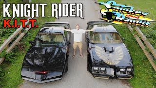 Smokey And The Bandit Trans Am  vs KITT Knight Rider - MOVIE CARS