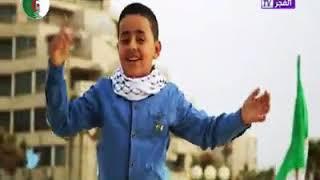 تحميل اغاني طفل غزة يغني للجزائر من اروع ماغني رابح درياسة MP3