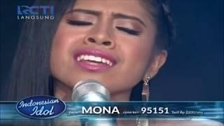 MONA-BEAUTIFUL BY Christina Aguilera TOP 15 INDONESIAN IDOL 2017