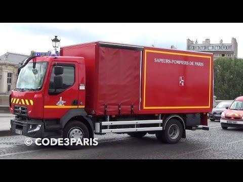 BSPP SPCT 53 + SPVL 346 + SP 231 // Paris Fire Dept. Trucks