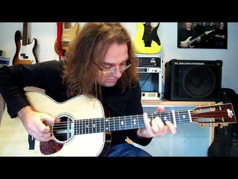 Peter Autschbach erklärt den Nanoflex Tonabnehmer von Shadow Electronics für akustische Gitarre