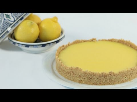Video [ENG] No Bake Lemon Tarte / تارت الليمون بدون خبيز - CookingWithAlia - Episode 455