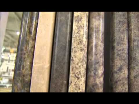 How Postformed Laminate Countertops Are Made