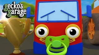 Baby Truck Doo Doo (Baby Shark Song) | Gecko's Garage | Truck Songs For Toddlers with Lyrics
