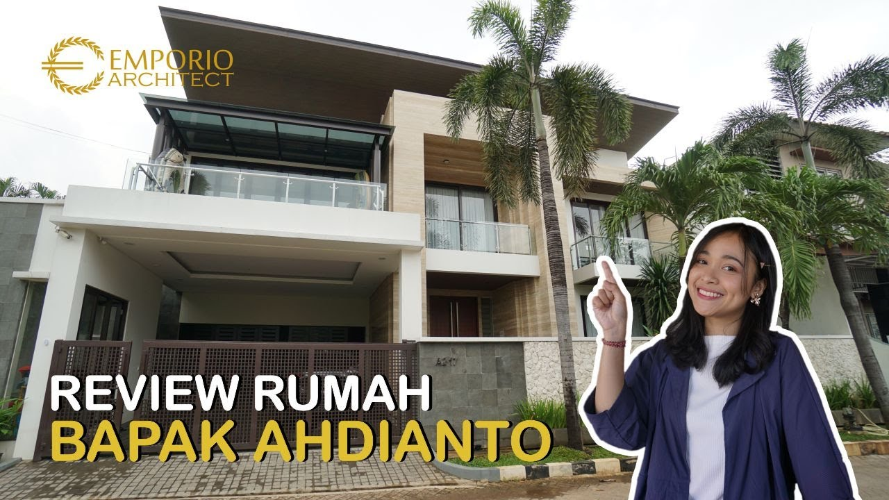 Video Hasil Konstruksi Mr. Ahdianto Modern House 2 Floors Design - Jakarta
