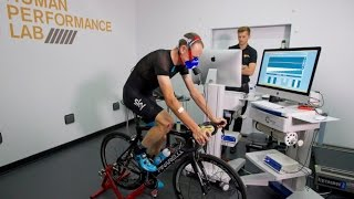 Chris Froome visits the GSK Human Performance Lab for Independent Physiological Assessment - dooclip.me