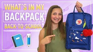 What's in My Backpack (Freshman Edition) | Back-to-School 2017