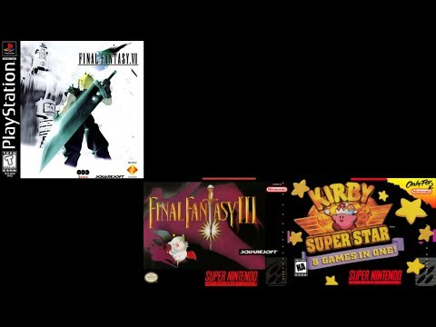 Final Fantasy VII: J-E-N-O-V-A - Super Mario 64 DS Soundfont