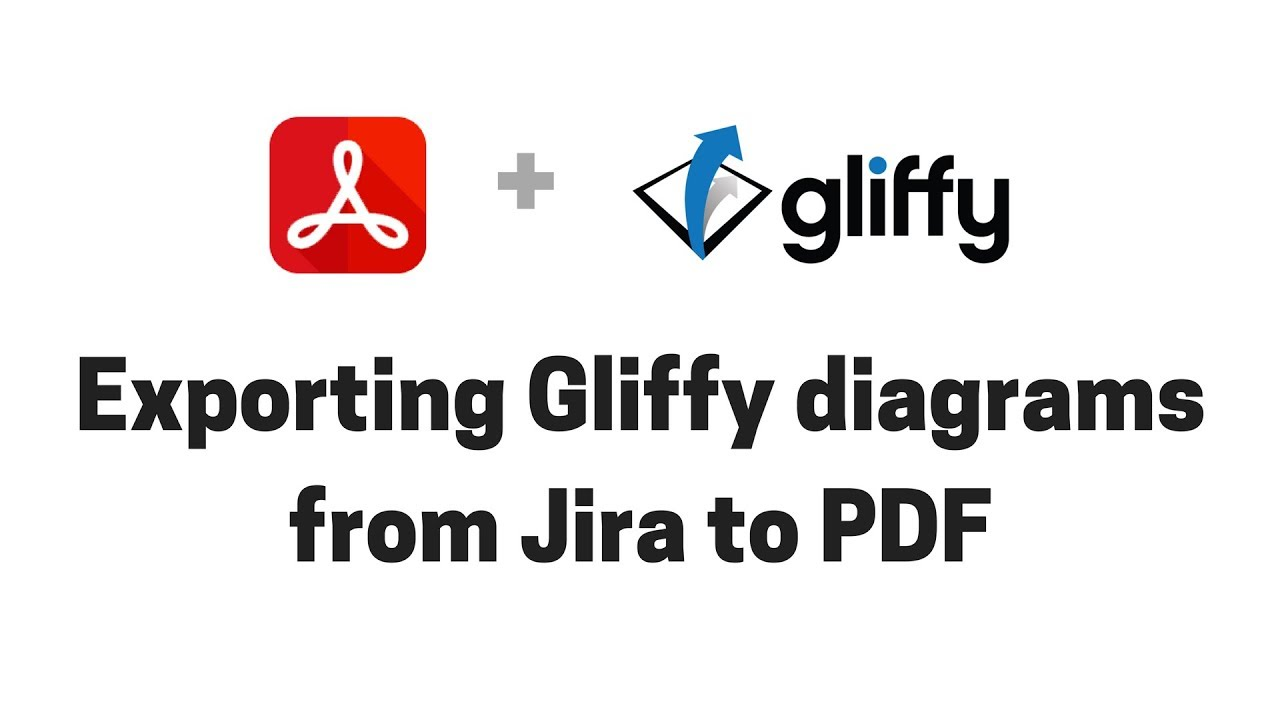 Exporting Gliffy diagrams from Jira to PDF