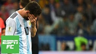 Lionel Messi saw 'no hope' next to him in 3-0 loss to Croatia at 2018 World Cup | ESPN FC - dooclip.me