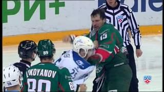Бой КХЛ: Свитов VS Рыспаев / KHL Fight: Svitov VS Ryspayev