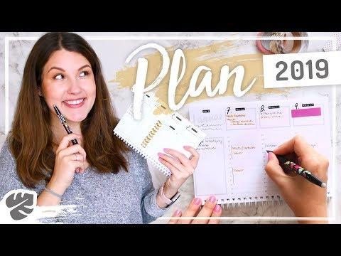 KALENDER ROUTINE 2019 –Organisation, Planung & Ziele