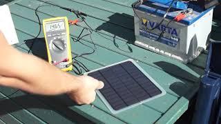 Solarmodul 20W ;-)  Solarpanel, Solarzelle aus China