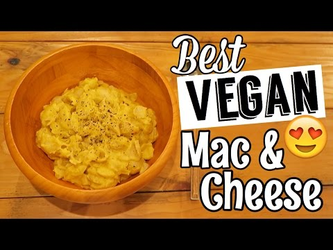 BEST VEGAN MAC & CHEESE RECIPE
