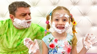 Nastya and her mistakes in behavior - Rules of conduct for children