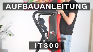 SPORTSTECH IT300 Inversionsbank - Aufbauanleitung//construction/structure/estructura/struttura