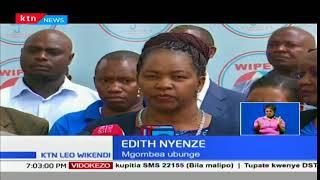 Ridhaa ya Wiper:Edith Nyenze apokea cheti
